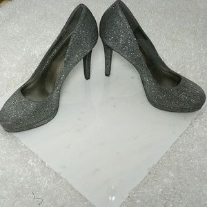 "Fioni Night - PROM Sparkling Silver Grey 5"" Heels"